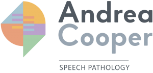 Logo for Andrea Cooper Speech Pathology Payments