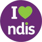 i Love Logo for National Disability Insurance Scheme